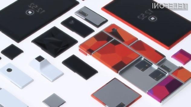 Modularni pametni mobilni telefon Google Ara bo naprodaj že januarja 2015!