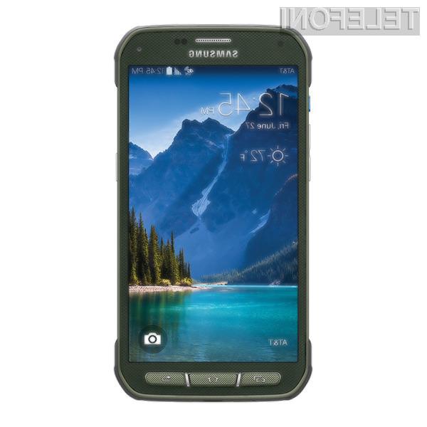 Samsung Galaxy S5 Active naj bi v Slovenijo prispel še pred koncem jeseni.