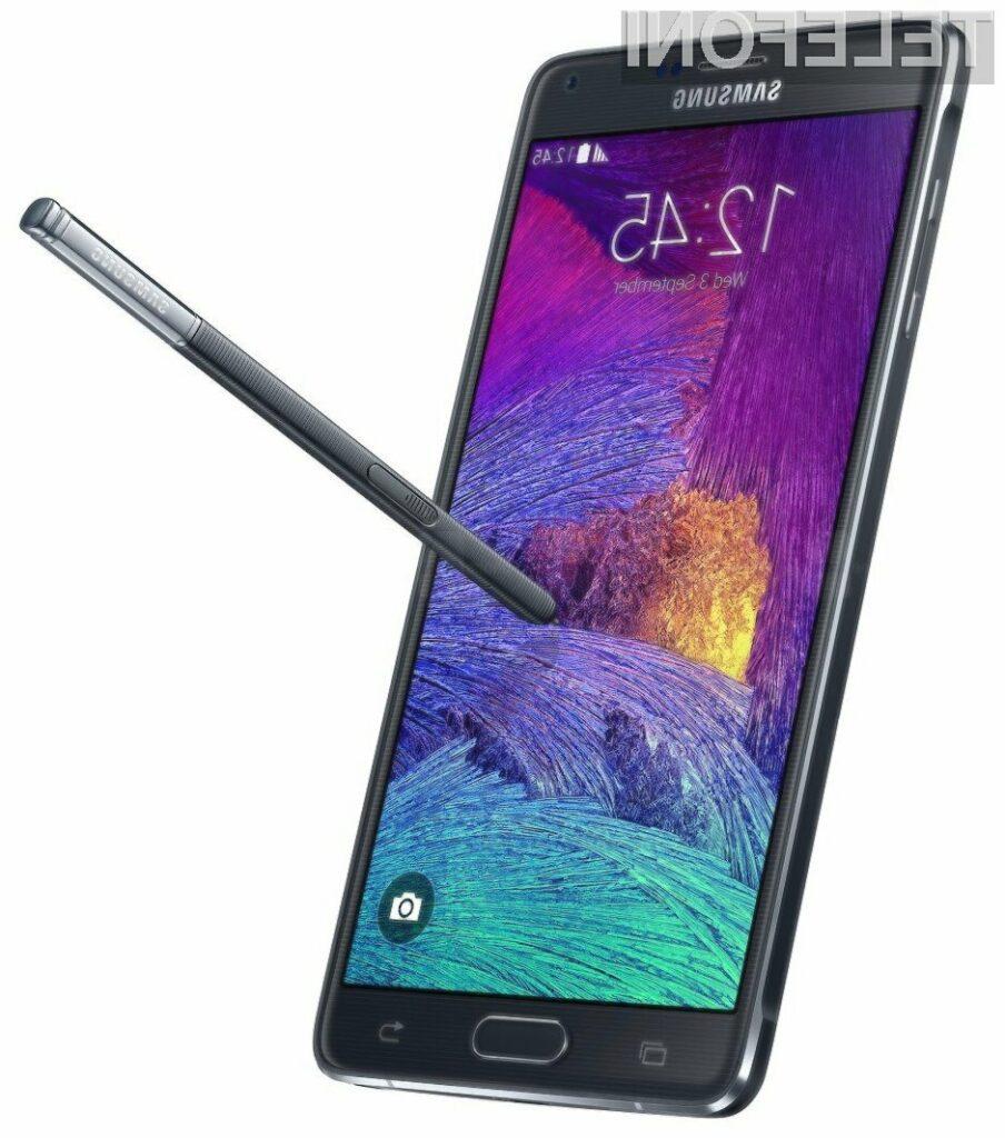 Samsung Galaxy Note 4 je odslej bogatejši za podporo za dve telefonski kartici SIM.