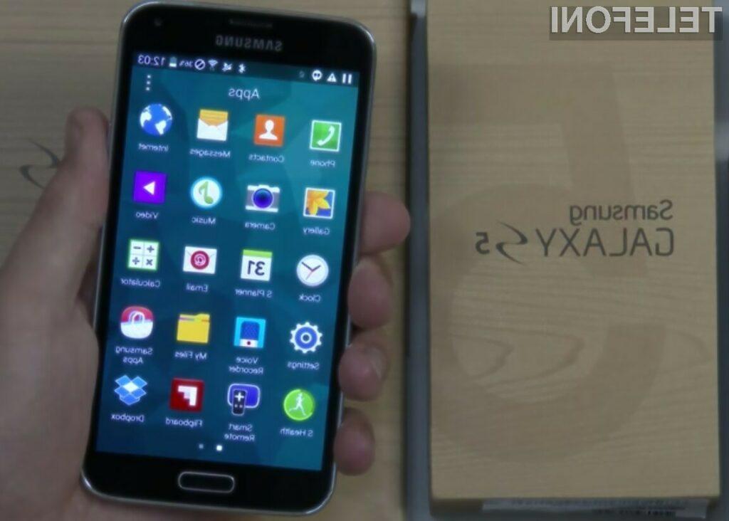 Android L se odlično prilega supermobilniku Samsung Galaxy S5!