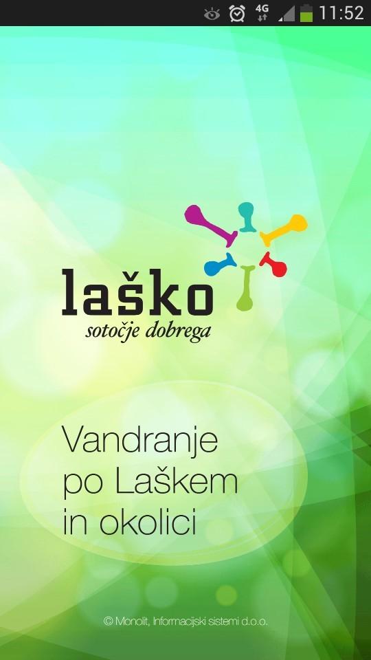 Destinacijska aplikacija Laško2Go