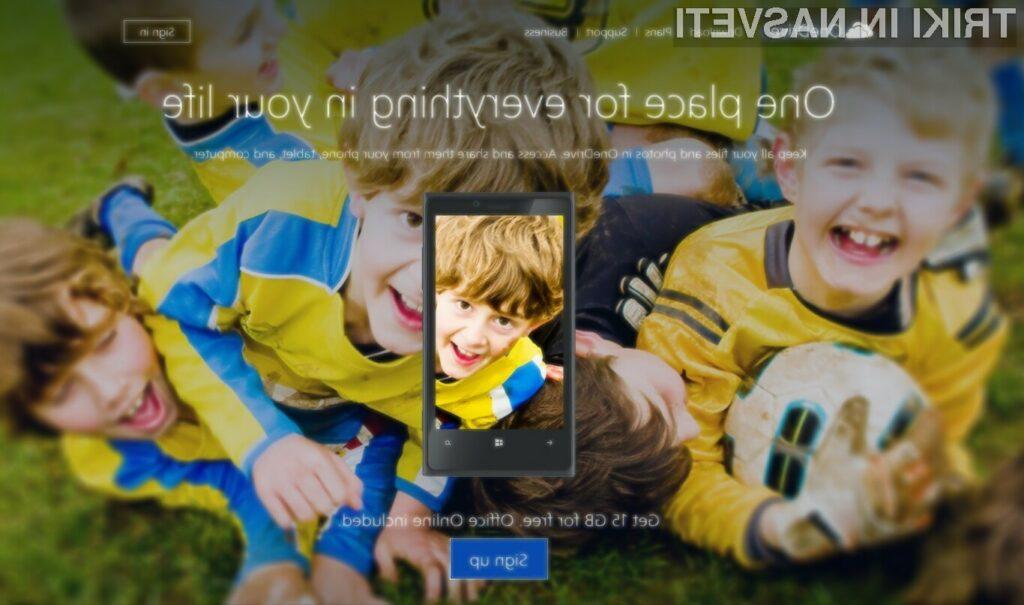 Uporabnikom oblačnega pisarniškega paketa Office 365 je odslej na voljo neomejen oblačni prostor v okviru Microsoftove storitve OneDrive.
