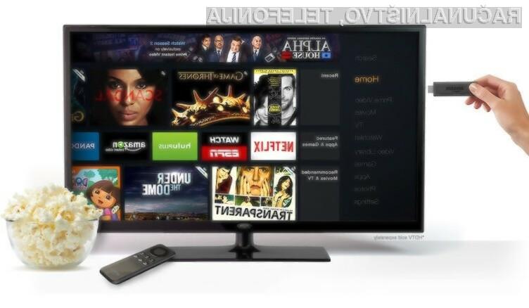 Amazonov večpredstavnostni ključek Fire TV Stick je združljiv z bogato paleto mobilnih naprav Android in iOS!