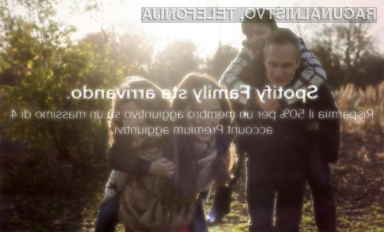Spotify Family: Do pet uporabnikov za nižjo ceno!