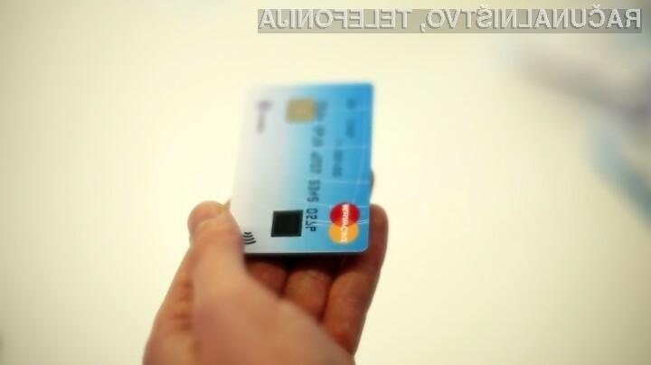 Uporabna prstnega odtisa bo močno povečala varnost pri plačevanju s kreditnimi karticami!