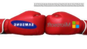 Samsung bo pogodbo z Microsoftom o plačevanju licenčnine za Android poskušal izpodbijati na sodišču.