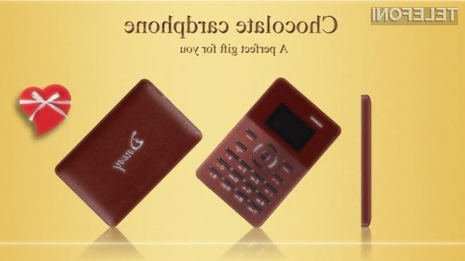 Mobilni telefon Daway Chocolate kljub majhnim dimenzijam zagotavlja avtonomijo do štiri ure neprekinjenih pogovorov.