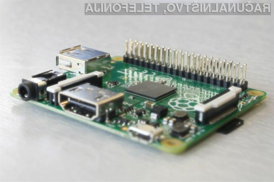 Za novi Raspberry Pi A+ je v ZDA treba odšteti le preračunanih 16 evrov.