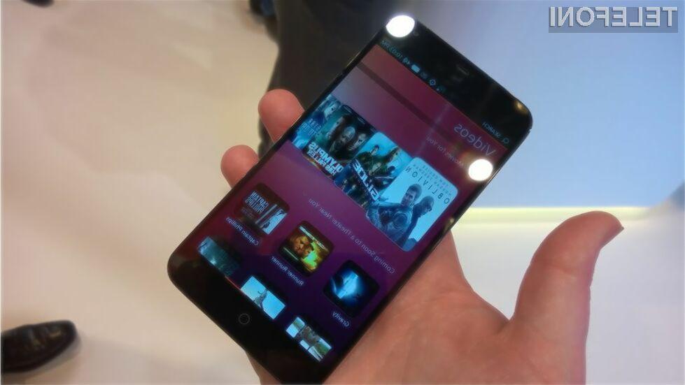 Prvi pametni mobilni telefon z mobilnim operacijskim sistemom Ubuntu naj bi bil naprodaj še pred naslednjo pomladjo!