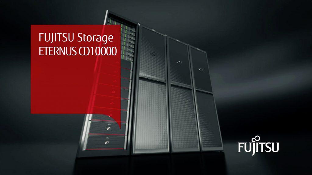 Pomnilniški sistem Fujitsu ETERNUS CD10000 za hiper hrambo podatkov
