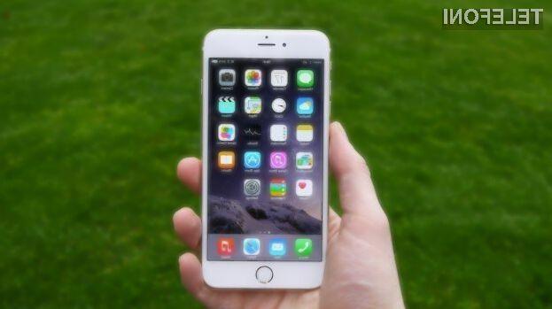 Pametni mobilni telefon iPhone 6 gre najbolje v prodajo!