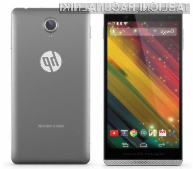 HP Slate 6 VoiceTab II združuje prednosti kompaktne tablice in pametnega mobilnega telefona!