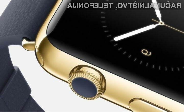 Za zlato pametno ročno uro Apple Watch naj bi bilo v Evropi potrebno odšteti celo pet tisoč evrov!