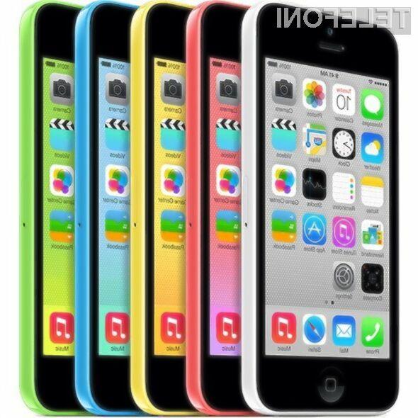 Pametni mobilni telefon iPhone 5C naj bi kmalu odšel v večna lovišča!
