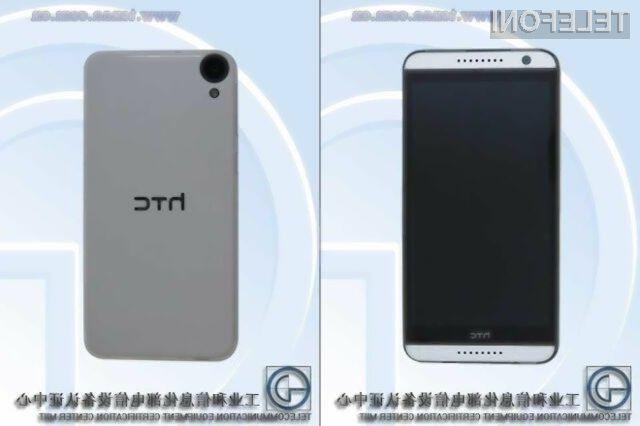Pametni mobilni telefon HTC D820ws bo nekoliko cenejši od modela Desire 820.