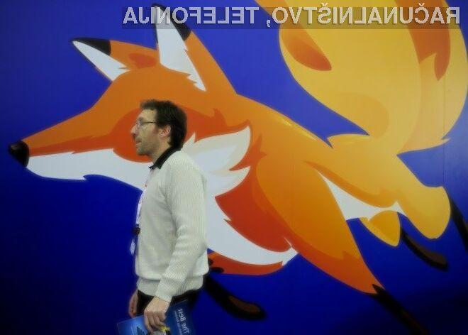 Stagnacija prihodkov organizacije Mozilla