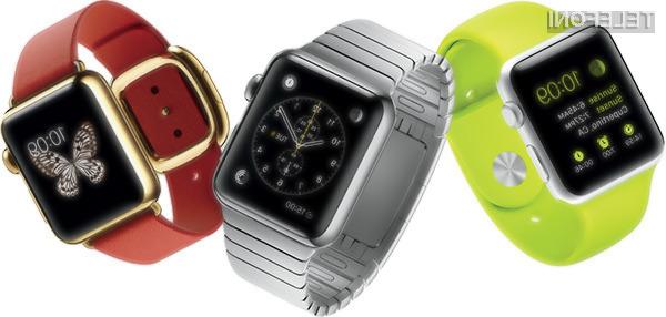 Pametna ročna ura Apple Watch bo po vsej verjetnosti naprodaj šele naslednjo pomlad.