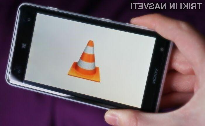 VLC predvajalnik bo kmalu na voljo tudi za mobilne naprave Windows Phone.