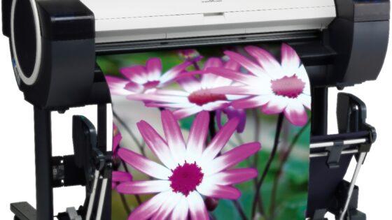 Canon imagePROGRAF iPF780/785 – izjemen 36-palčni barvni tiskalnik velikega formata.