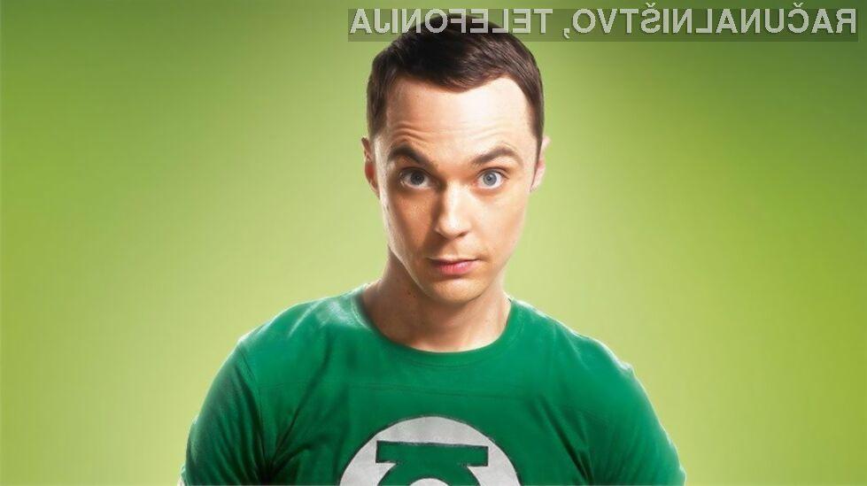 Dr. Sheldon Cooper skupaj z Intelom!