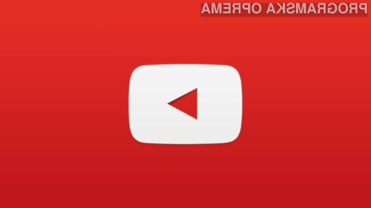 YouTube pred velikimi spremembami