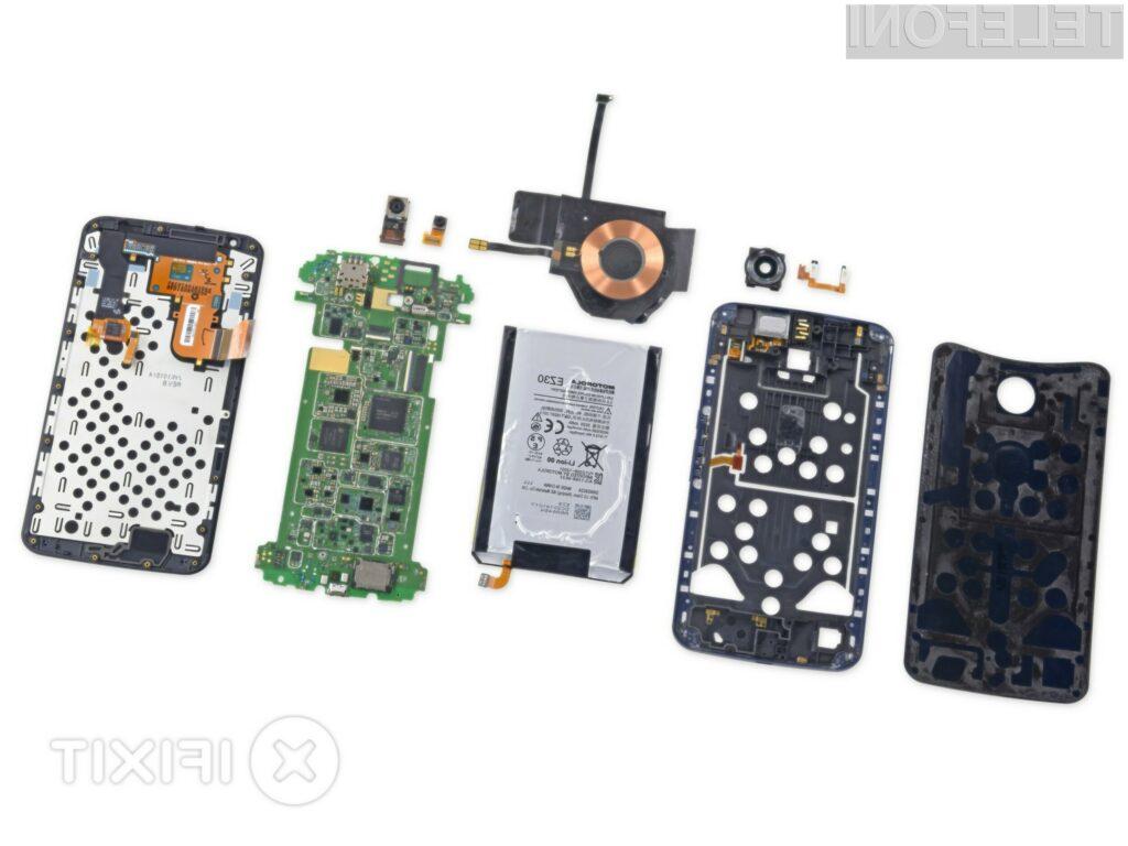 Razkrita notranjost supermobilnika Google Nexus 6