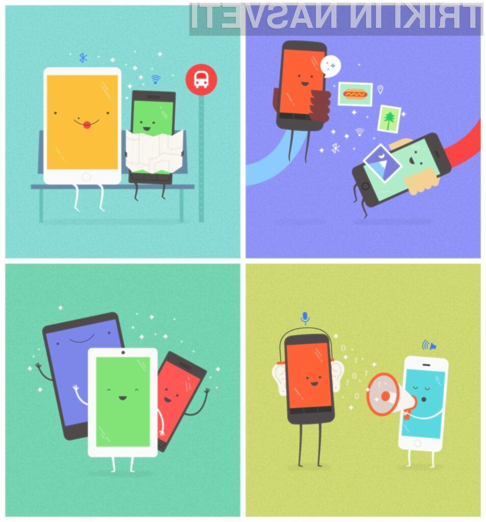 Googlova mobilna aplikacija Copresence naj bi močno poenostavila izmenjavo datotek med mobilnimi napravami.
