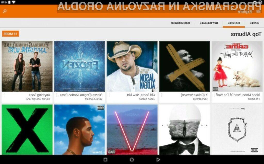 Od danes glasba in filmi v storitvi Google Play na voljo tudi v Sloveniji