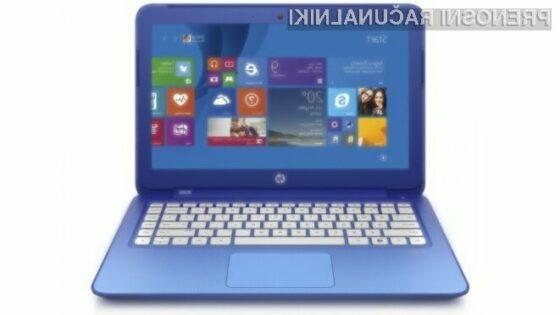 Prenosni računalnik HP Stream 13 nudi odlično razmerje med ceno in zmogljivostjo.