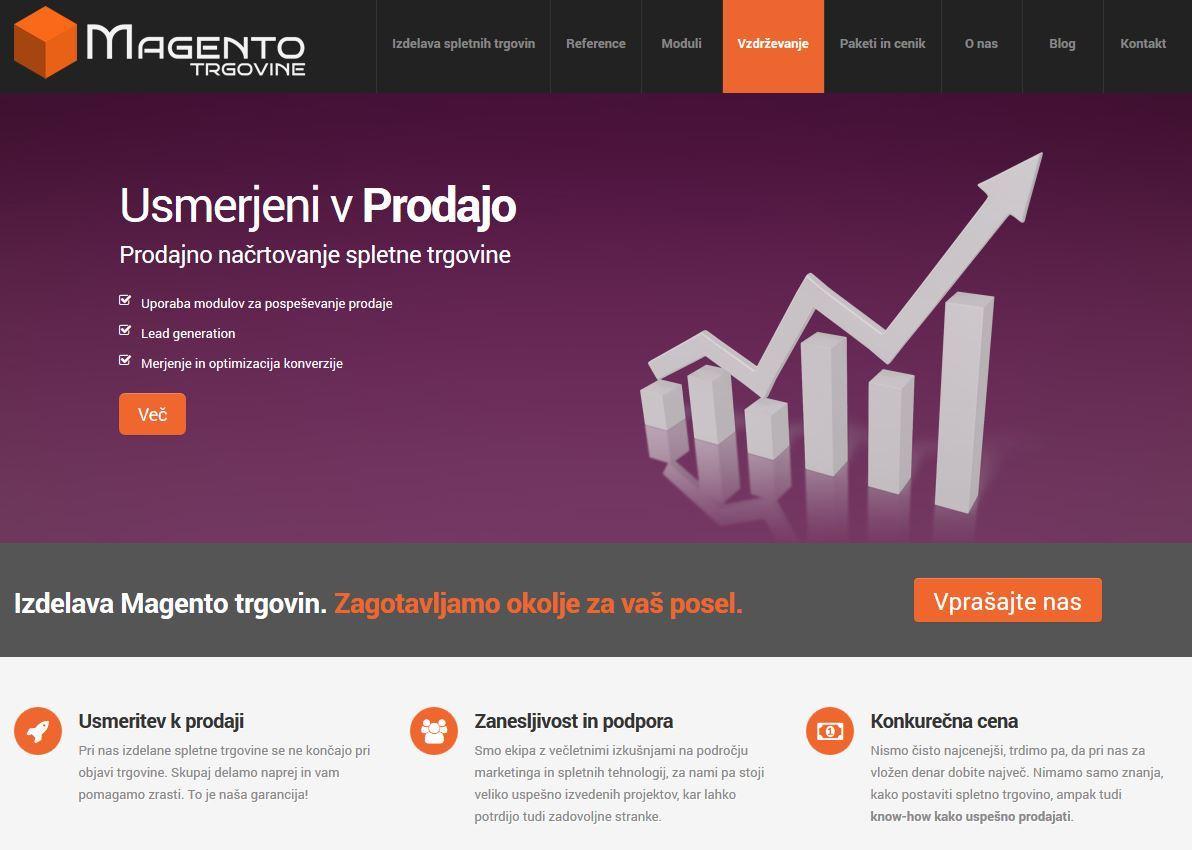 Izdelava prodajno optimiziranih spletnih trgovin