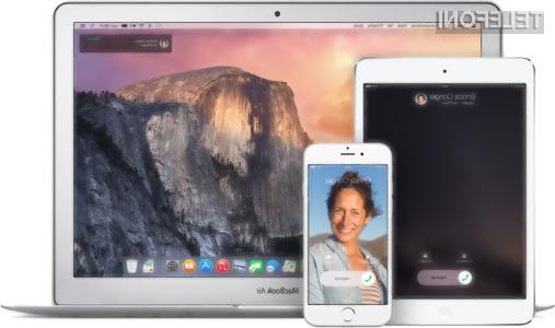 Sistema iOS 8.1.1 in OS X 10.10.1 prinašata kopico izboljšav za Applove naprave!
