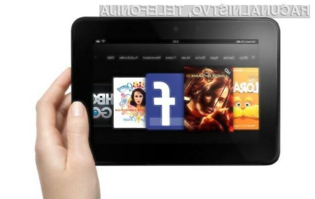 Tablični računalnik Amazon Kindle Tablet je uporabnike prepričal na račun enostavnosti uporabe in nizke cene.