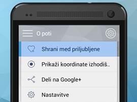 Posodobljena aplikacija