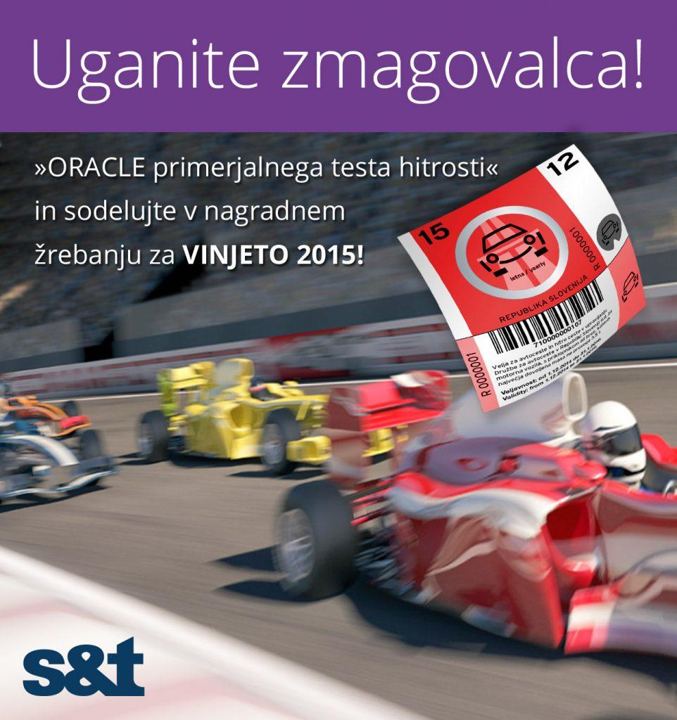 Prvič v Sloveniji  - primerjalni hitrostni test delovanja ORACLE podatkovne baze