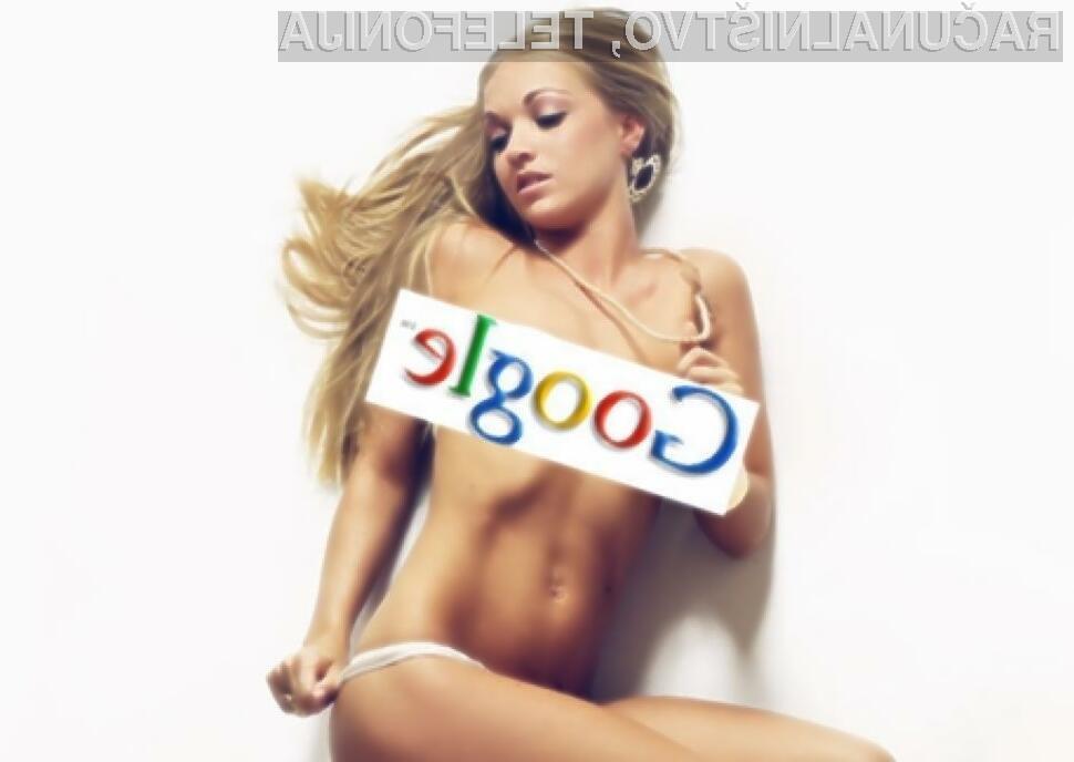 Spletni iskalnik Google je za iskanje pornografskih vsebin bolj ko ne neuporaben.