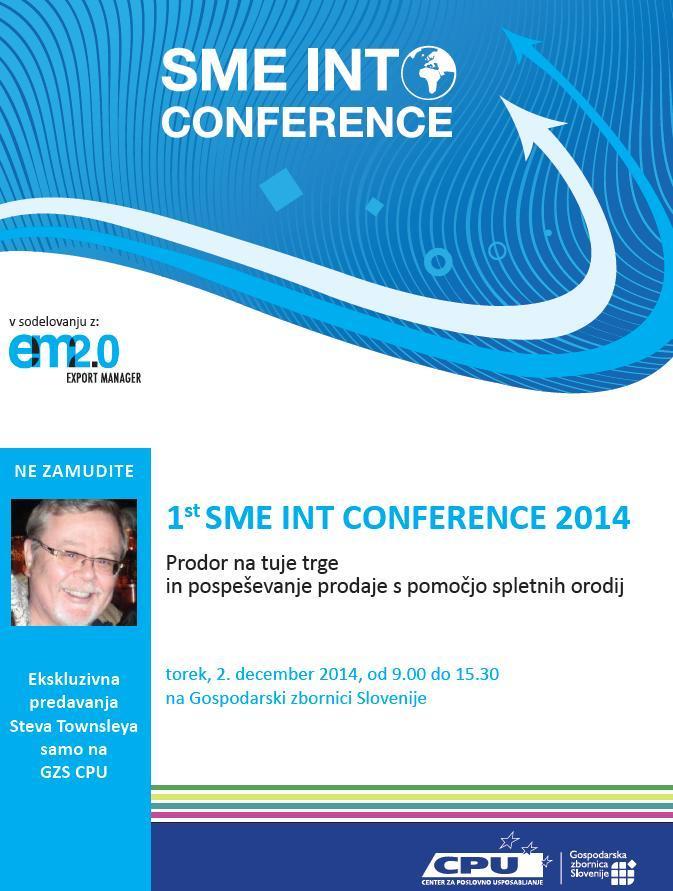 1st SME INT konferenca