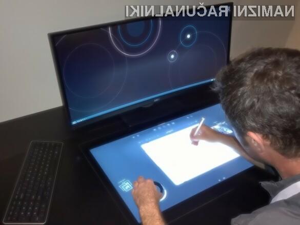 Osebni računalnik Dell Smart Desk bi zagotovo poenostavil marsikatero opravilo.