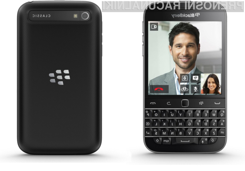BlackBerry predstavil Classic