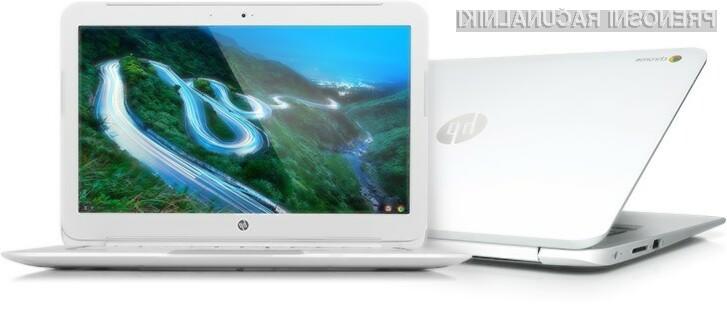Visokoločljiv zaslon se odlično prilega prenosniku HP Chromebook 14.