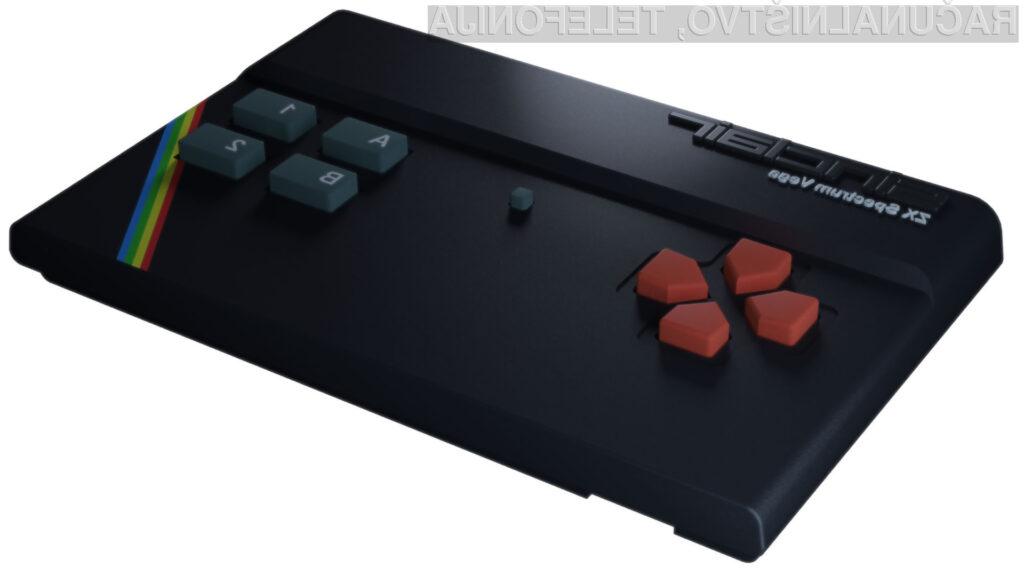 Igralna konzola Sinclair ZX Spectrum Vega ima prednameščenih kar 1.000 iger.