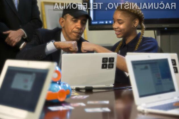 Barack Obama je dokazal, da je programiranje lahko tudi zabavno.
