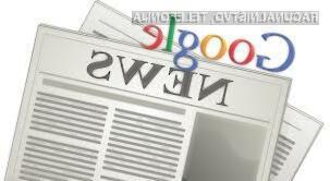Spletni novičarski agregator Google News Špancem ni več na voljo!