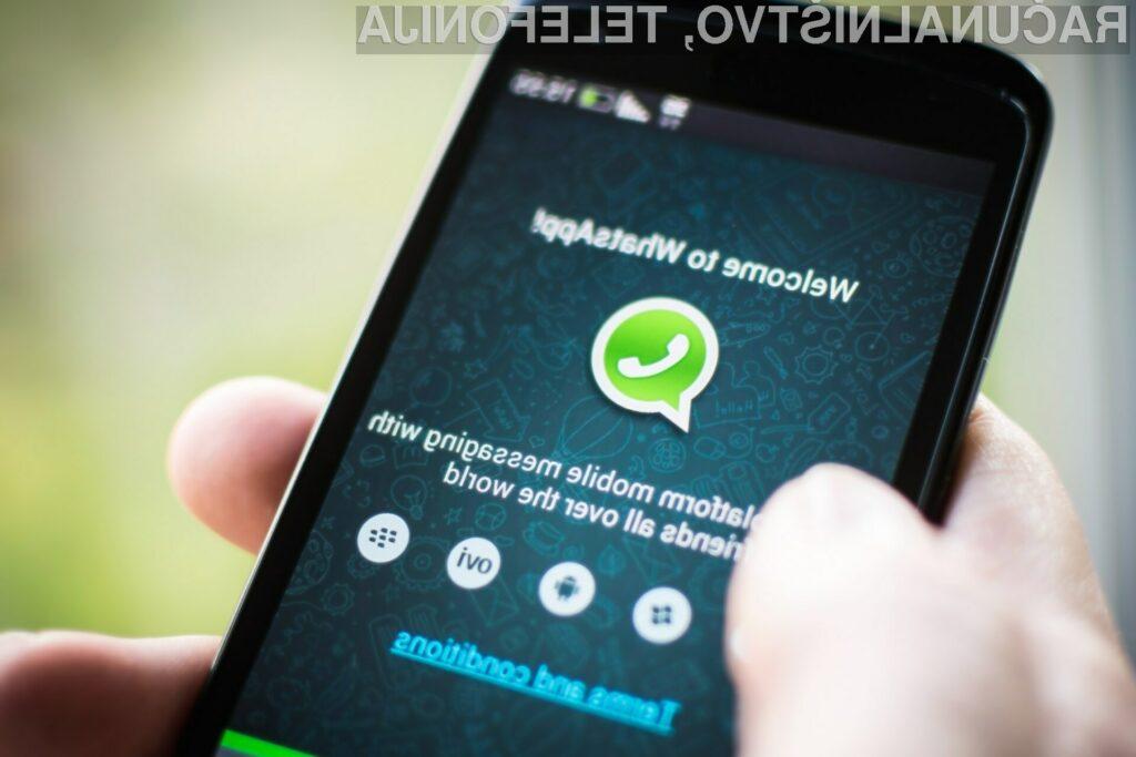Programerji aplikacije WhatsApp pripravljajo rešitev, ki bo omogočila telefonske pogovore v omrežjih 3G, 4G/LTE in omrežju Wi-Fi.