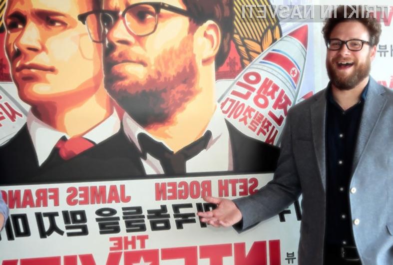 Film o atentatu na vrhovnega vodjo Severne Koreje Kim Jong-Una je v zgolj štirih dneh najelo ali kupilo že več kot dva milijona Američanov.