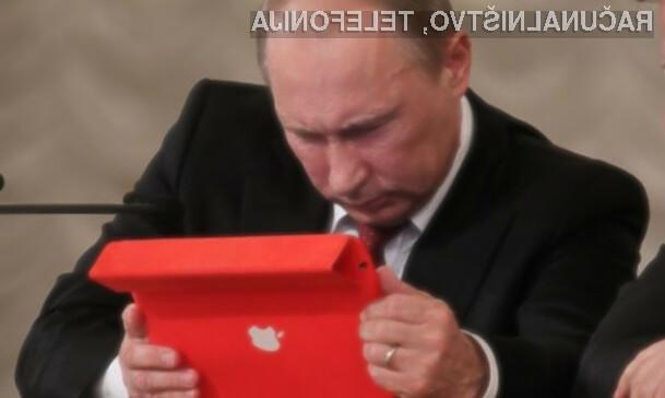 Zaradi strmega padanja cen rublja Appovih izdelkov še dalj časa ne bo na ruskem trgu.