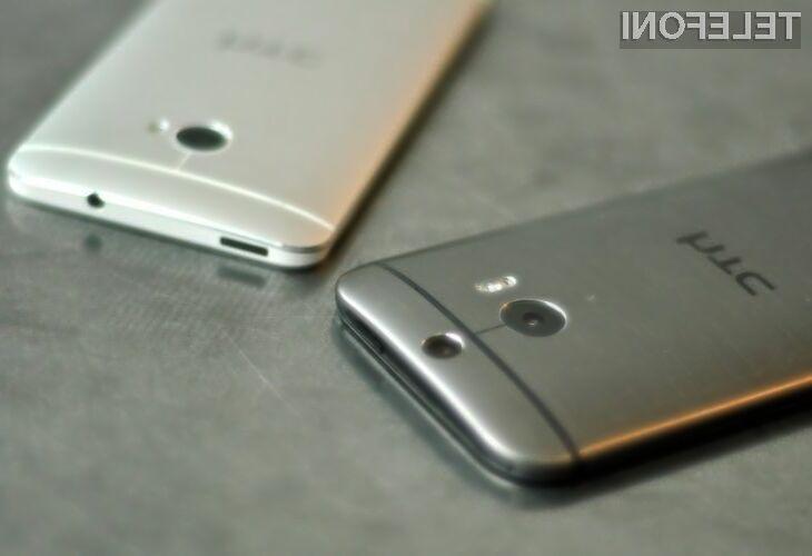 Android 5.0 Lollipop naj bi na mobilnike HTC One (M8) prispel že v začetku januarja!