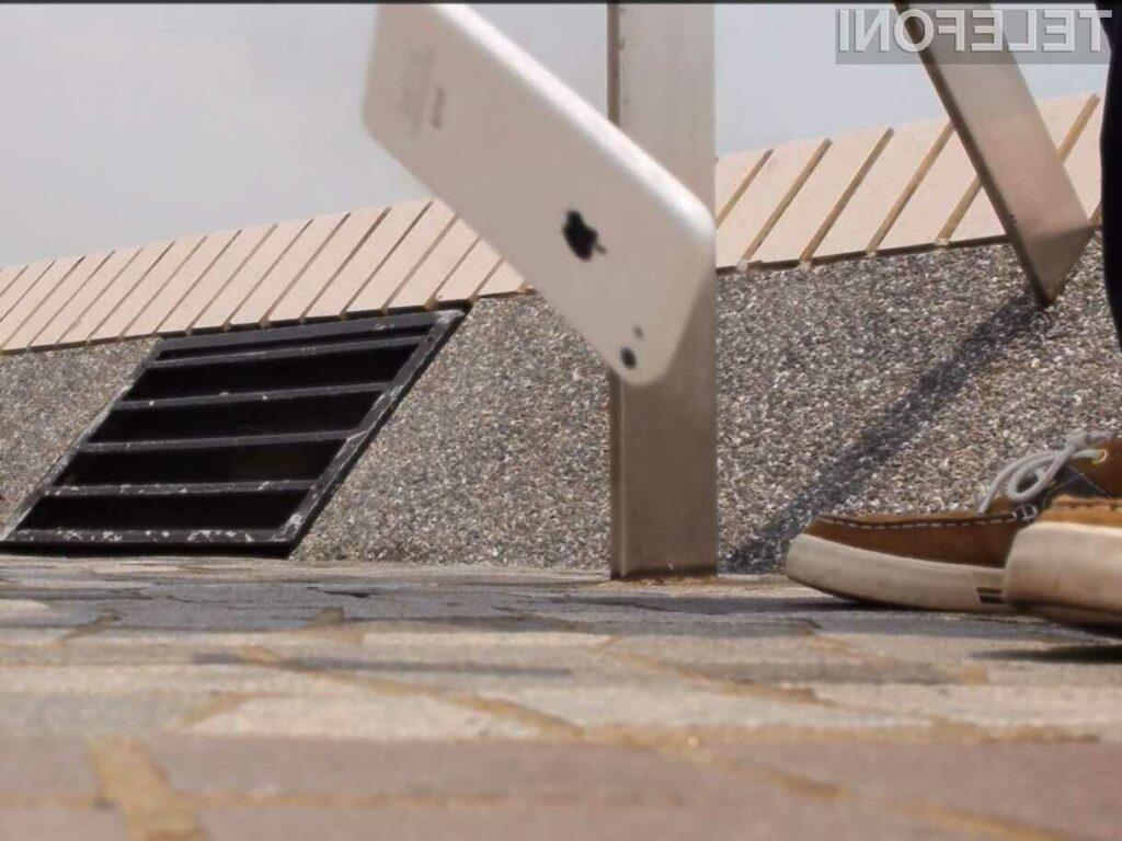Konec razbitih zaslonov ob padcu telefona?