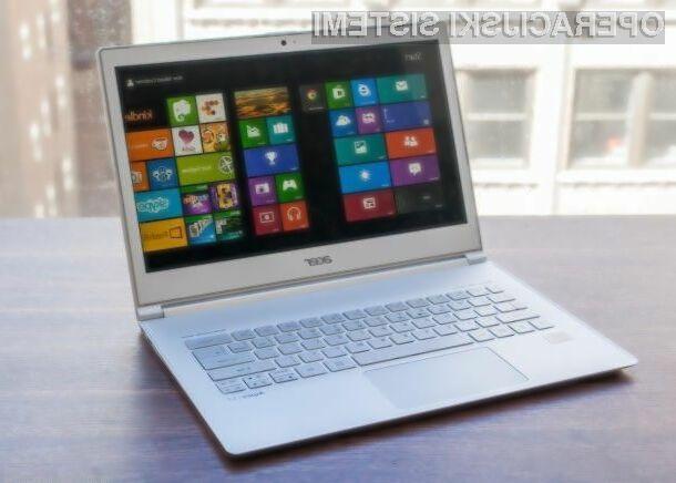 Priljubljenost operacijskega sistema Windows 8.1 se povečuje z vrtoglavo hitrostjo, Windows 8 pa tone v pozabo.