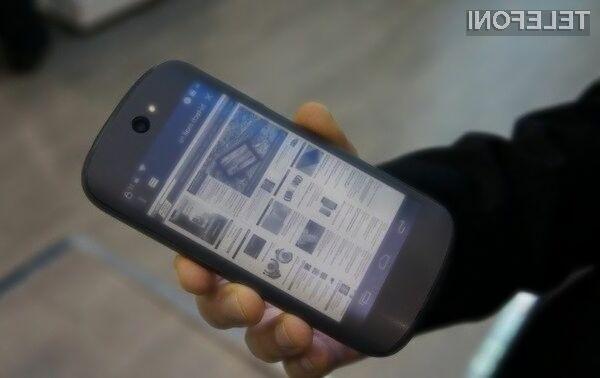 YotaPhone 2 bo po vsej verjetnosti mogoče kupiti tudi pri nas!