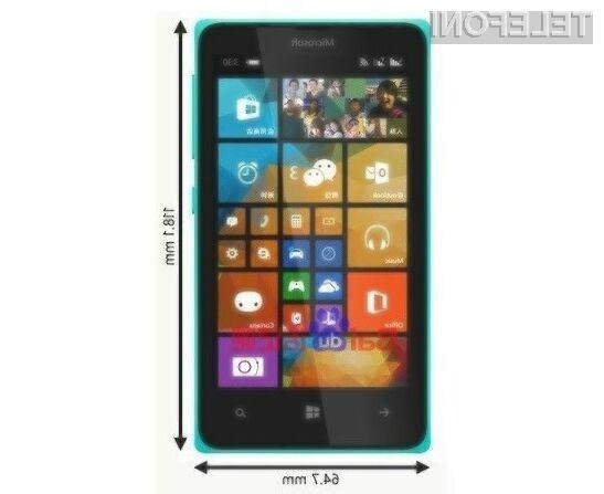 Prihajajoči pametni mobilni telefon Microsoft Lumia 435 bo poceni, a dovolj zmogljiv za vsakodnevna opravila.